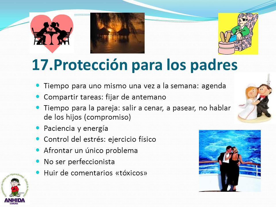 17.Protección para los padres