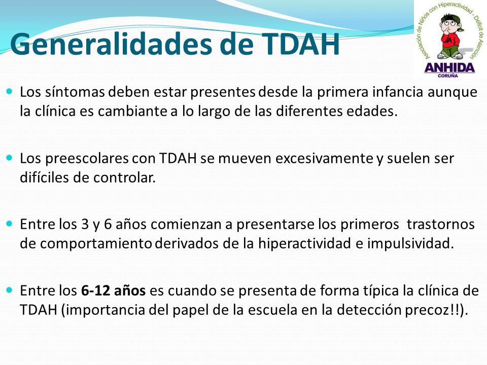 Generalidades de TDAH
