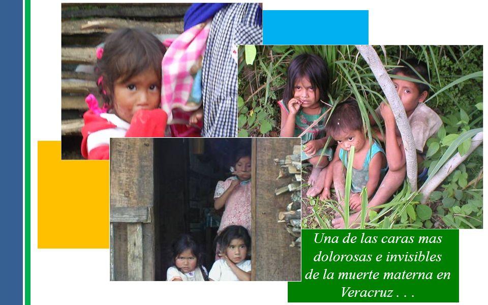 Una de las caras mas dolorosas e invisibles de la muerte materna en Veracruz . . .