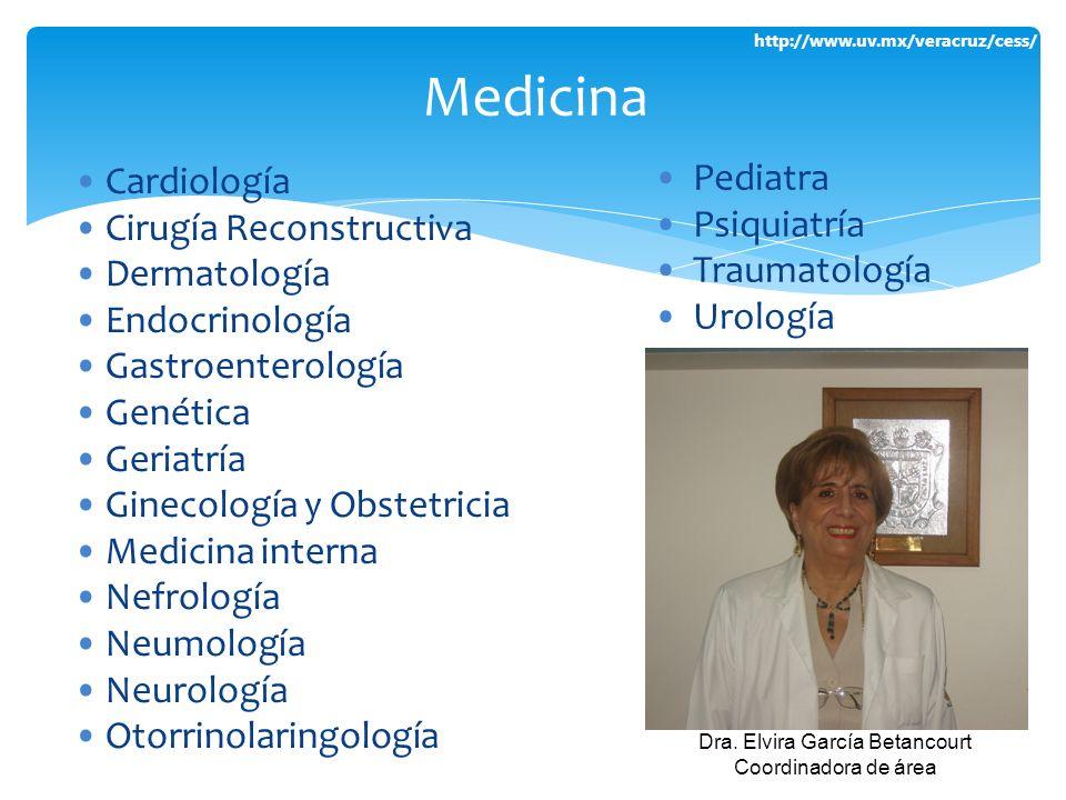 Dra. Elvira García Betancourt