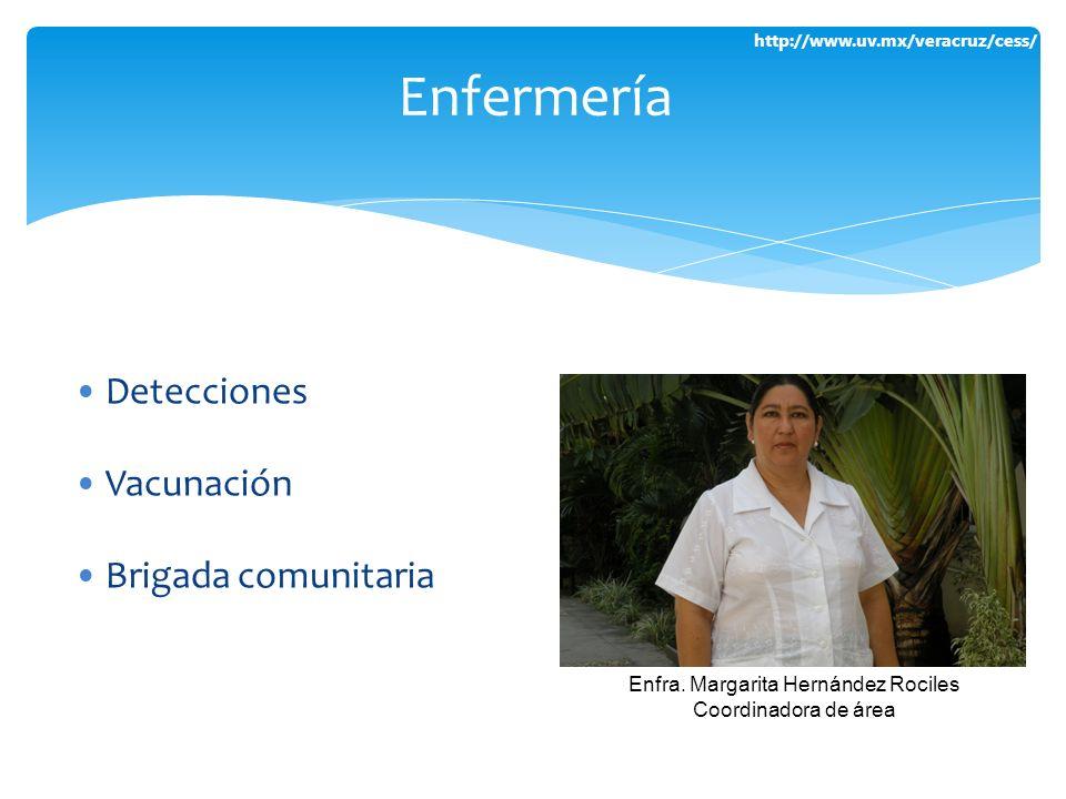 Enfra. Margarita Hernández Rociles
