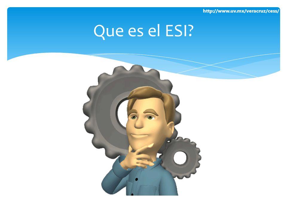 Que es el ESI