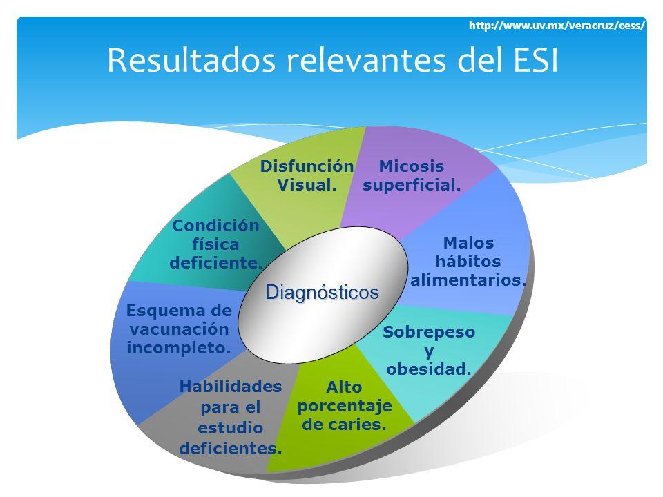 Resultados relevantes del ESI