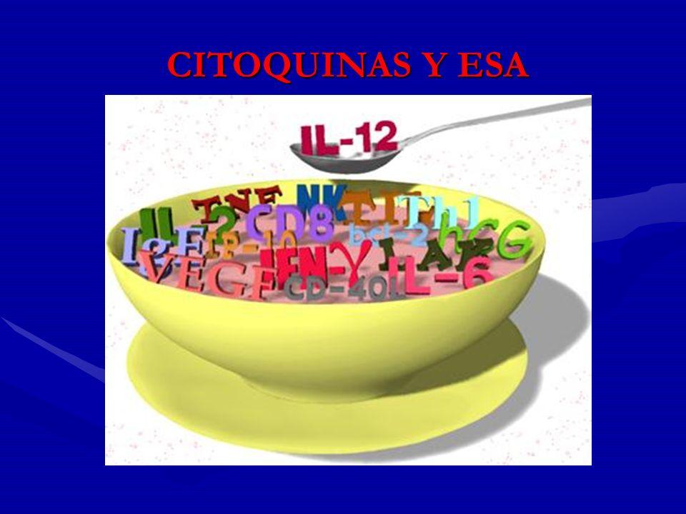 CITOQUINAS Y ESA 13