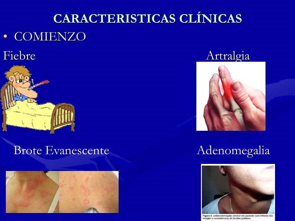 CARACTERISTICAS CLÍNICAS