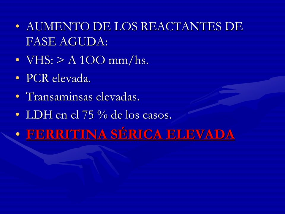 FERRITINA SÉRICA ELEVADA