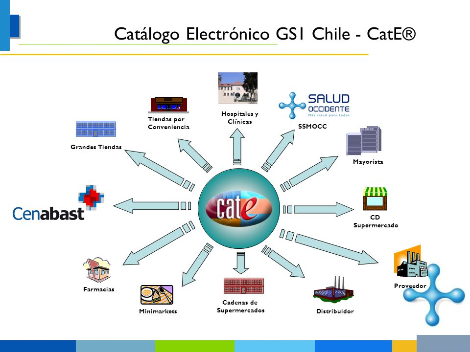 Catálogo Electrónico GS1 Chile - CatE®