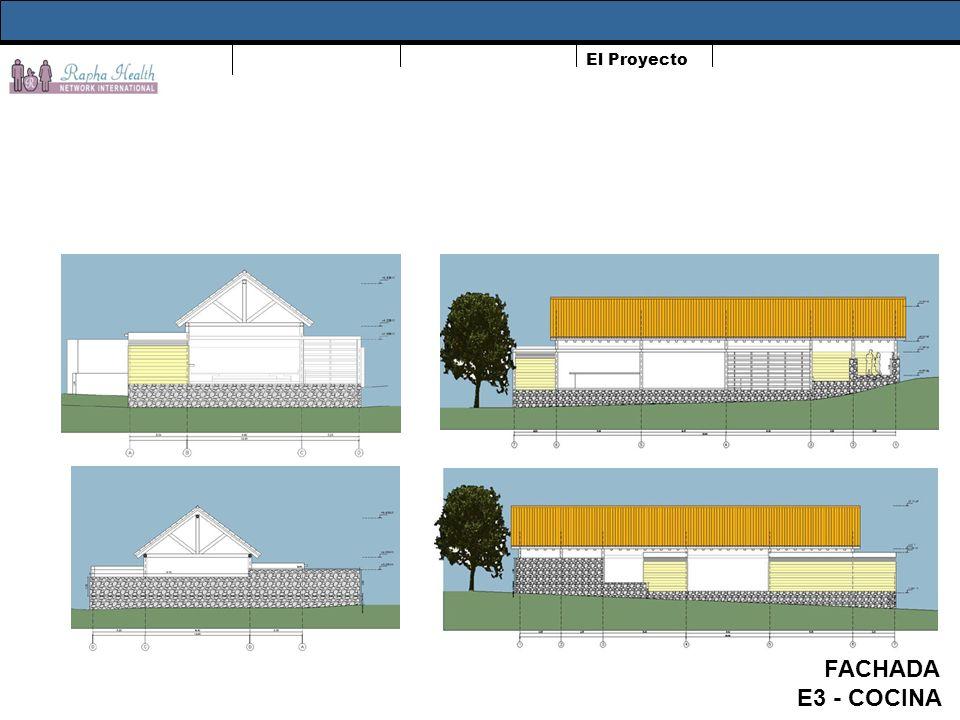 El Proyecto FACHADA E3 - COCINA