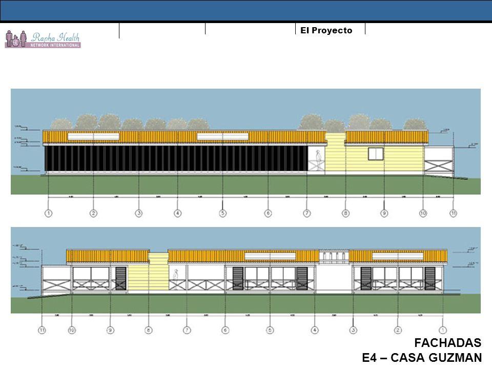 El Proyecto FACHADAS E4 – CASA GUZMAN
