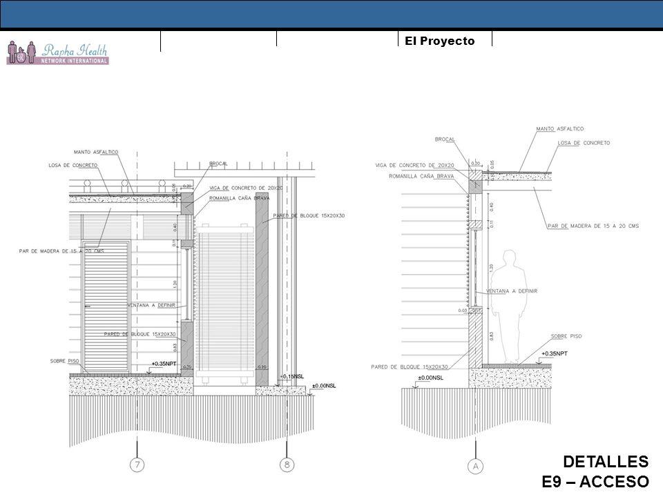El Proyecto DETALLES E9 – ACCESO