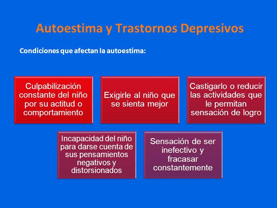 Autoestima y Trastornos Depresivos