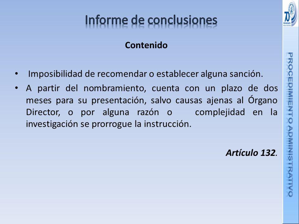 Informe de conclusiones