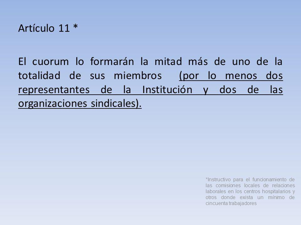 Artículo 11 *