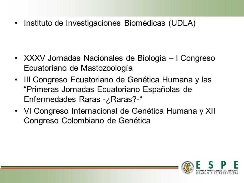 Instituto de Investigaciones Biomédicas (UDLA)