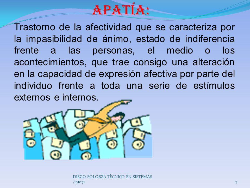 Apatía: