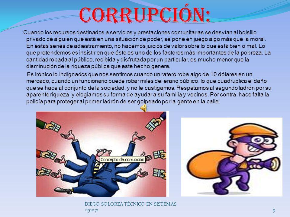 Corrupción: