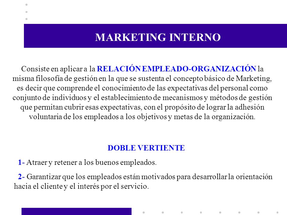 MARKETING INTERNO