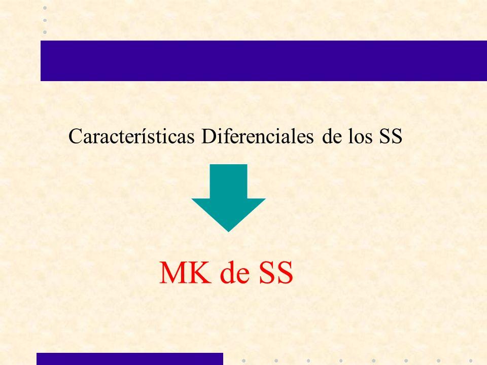 Características Diferenciales de los SS