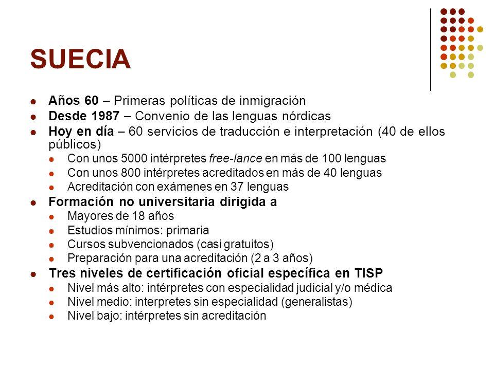SUECIA Años 60 – Primeras políticas de inmigración