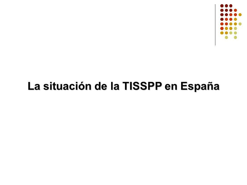 La situación de la TISSPP en España