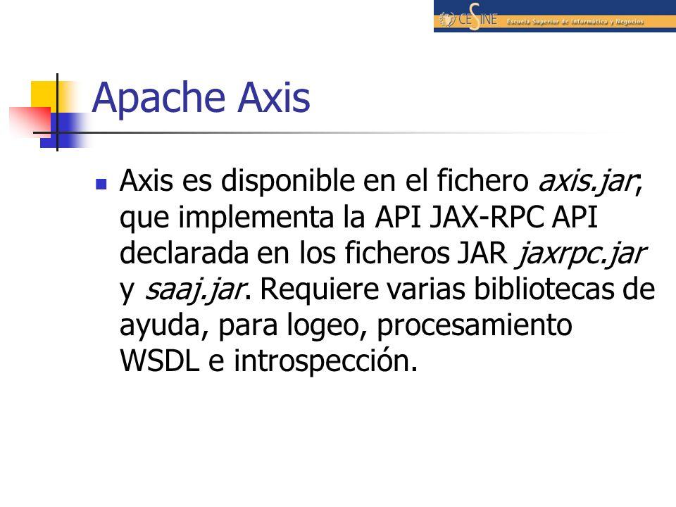 Apache Axis