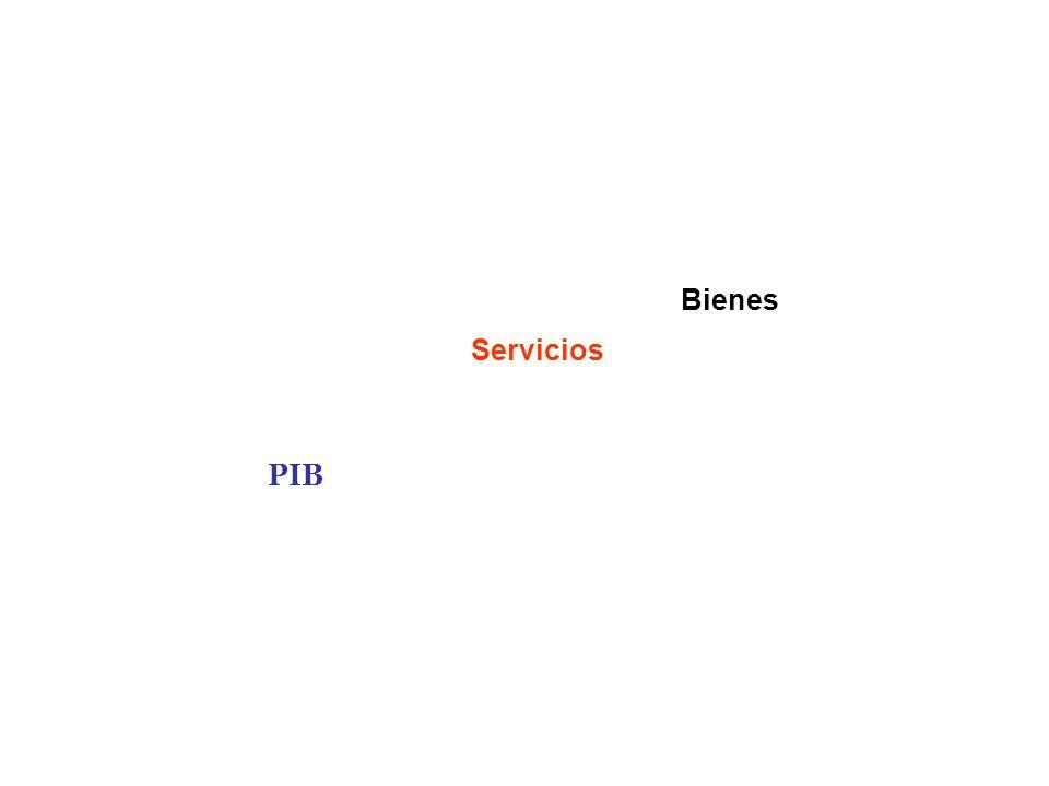 Bienes Servicios PIB