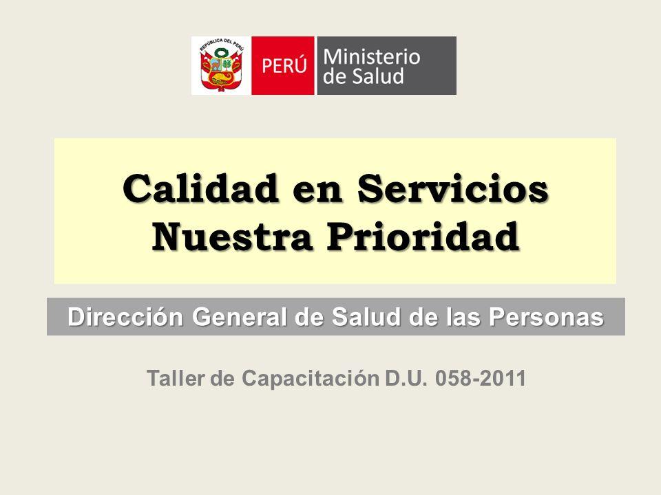 Calidad en Servicios Nuestra Prioridad