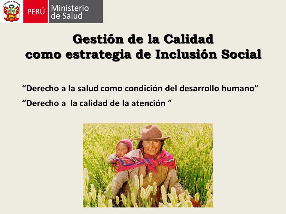 Gestión de la Calidad como estrategia de Inclusión Social