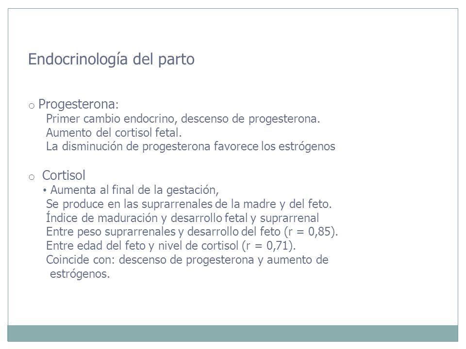 Endocrinología del parto
