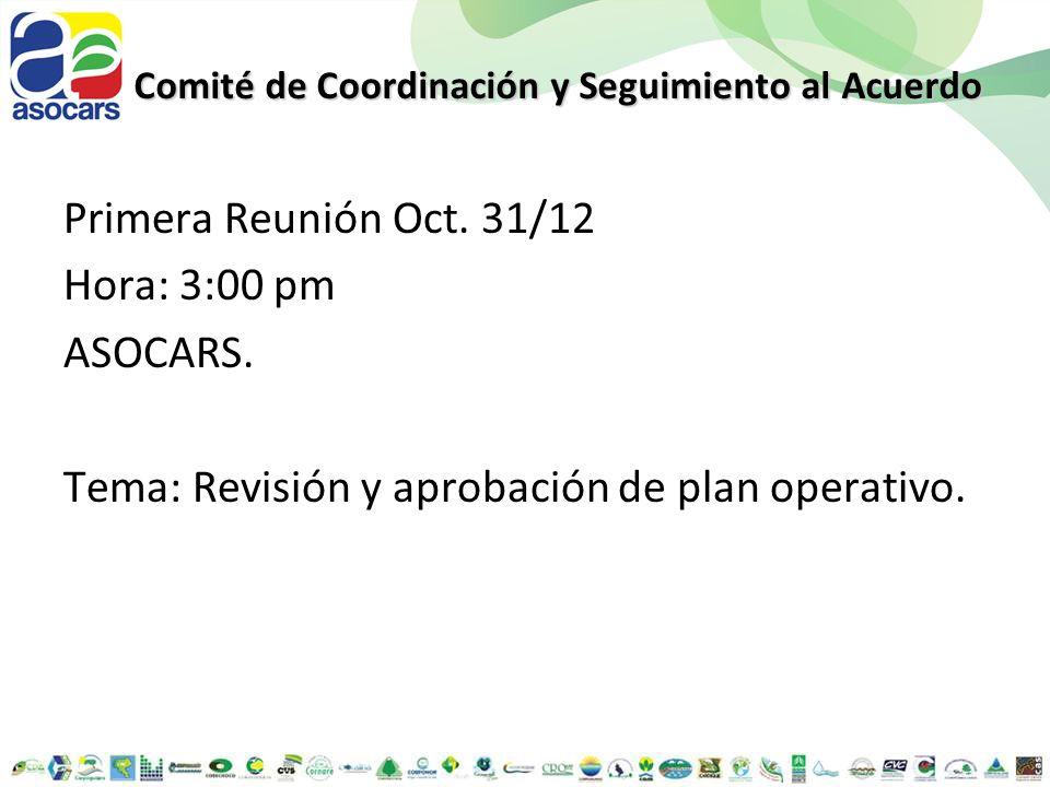 Comité de Coordinación y Seguimiento al Acuerdo
