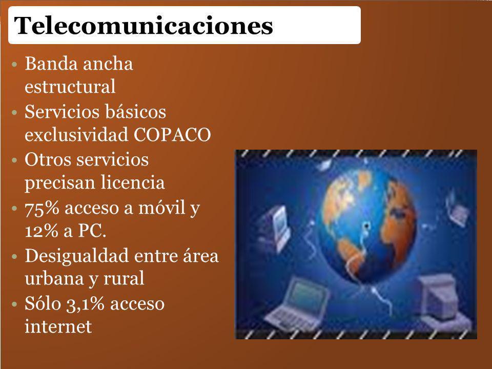 Telecomunicaciones Banda ancha estructural
