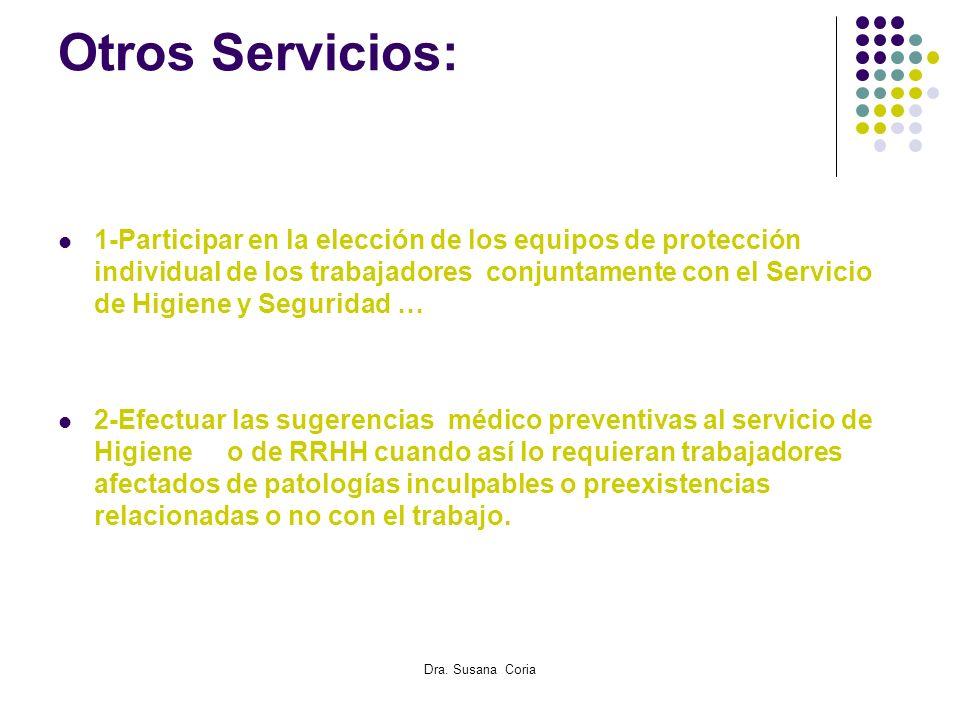 Otros Servicios: