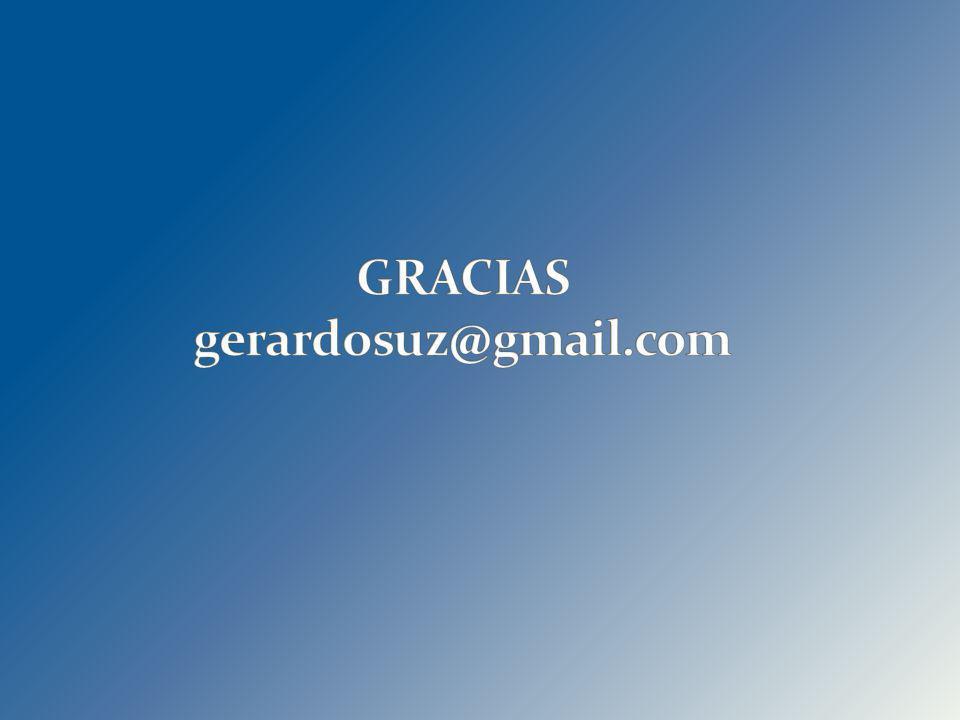 GRACIAS gerardosuz@gmail.com