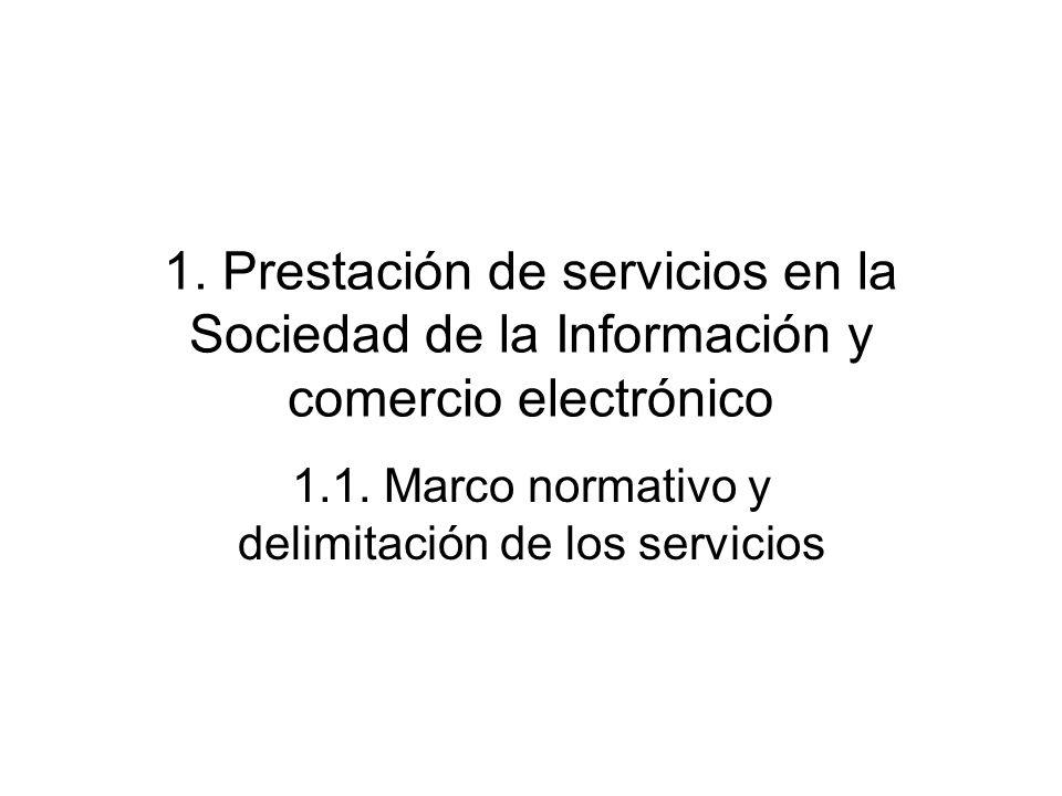 1.1. Marco normativo y delimitación de los servicios