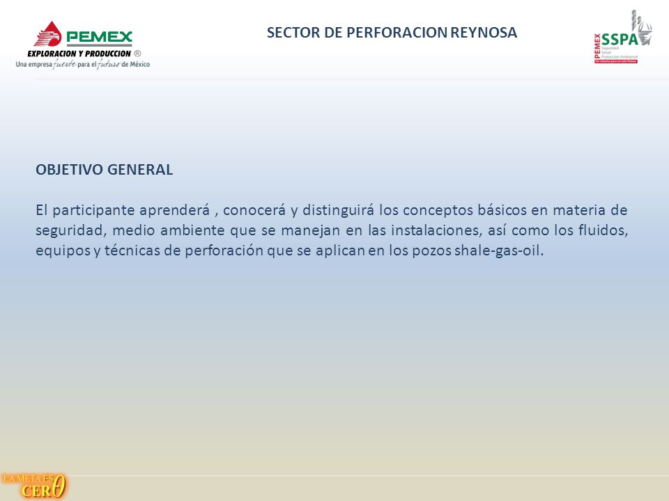 SECTOR DE PERFORACION REYNOSA INGENIERIA DE OPERACIÓN DE POZOS - ppt ...