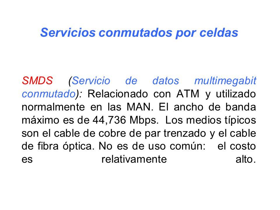 Servicios conmutados por celdas