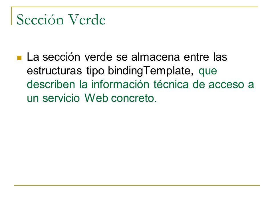 Sección Verde