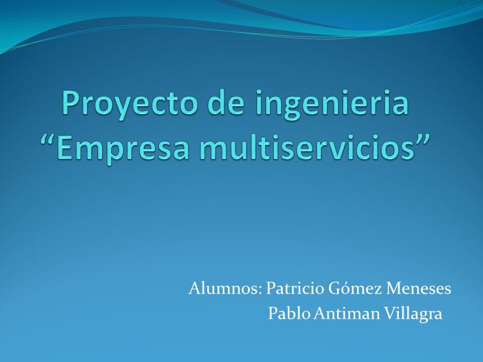 Proyecto de ingenieria Empresa multiservicios