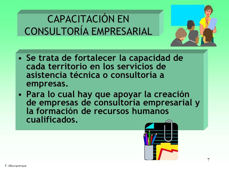 CAPACITACIÓN EN CONSULTORÍA EMPRESARIAL