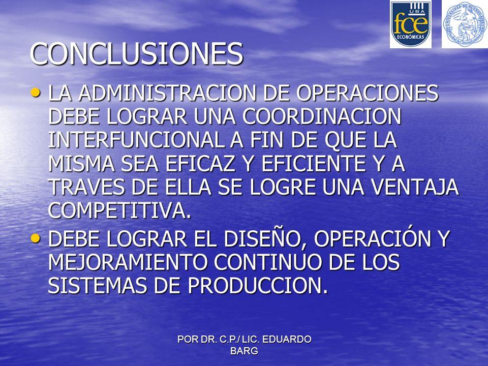 POR DR. C.P./ LIC. EDUARDO BARG