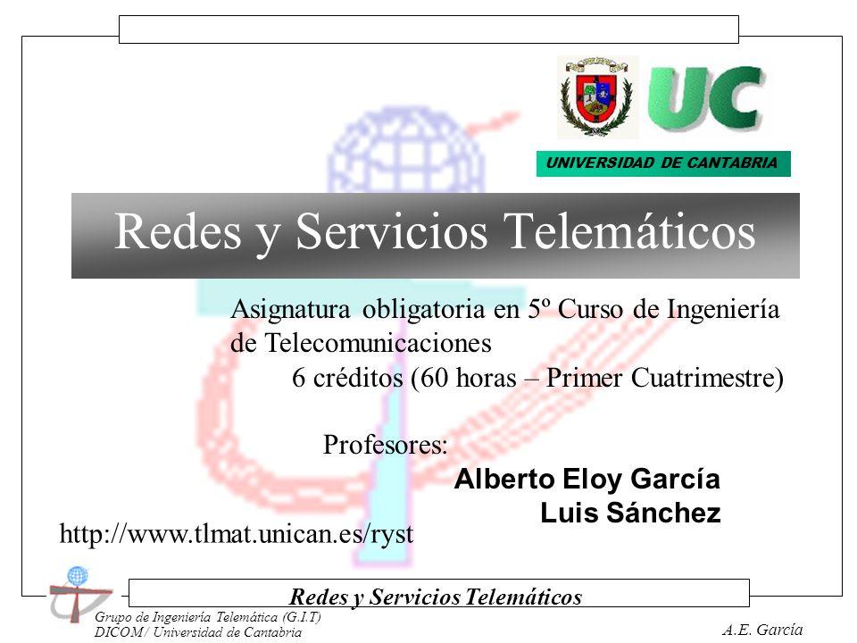 Redes y Servicios Telemáticos