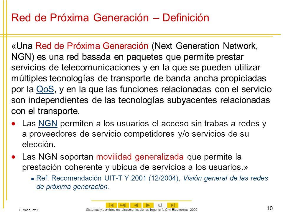 Red de Próxima Generación – Definición