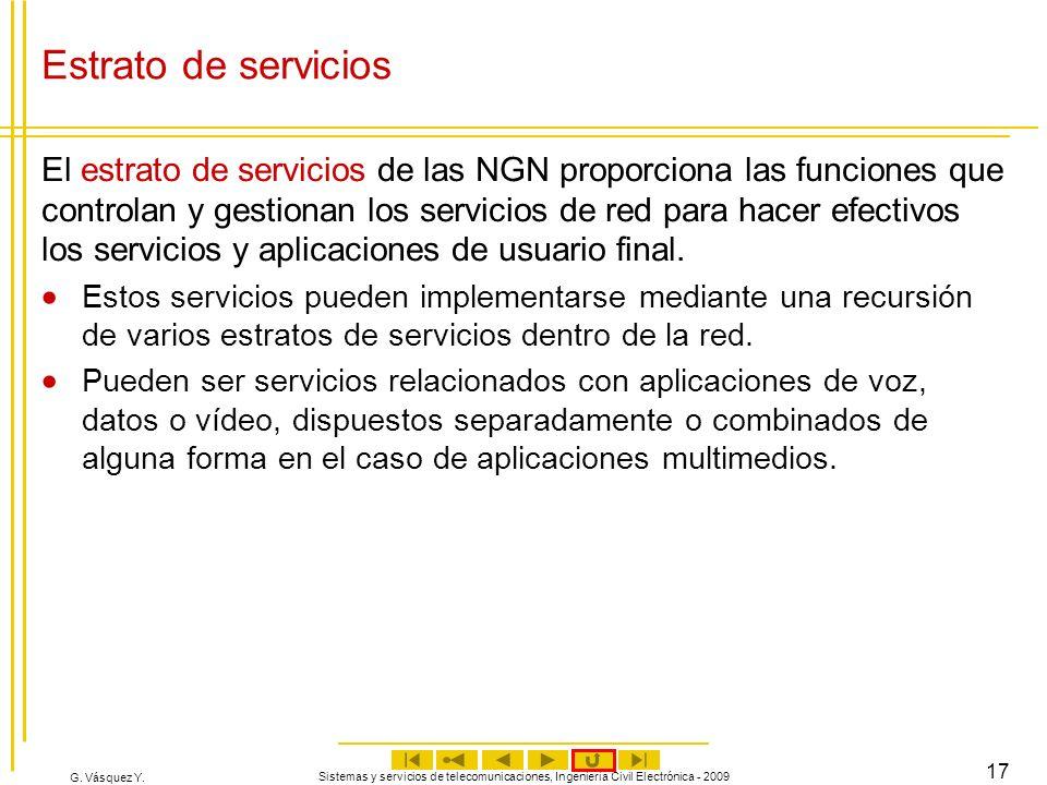 Estrato de servicios