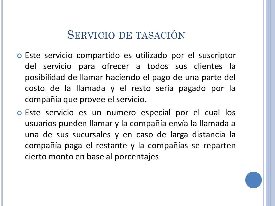 Servicio de tasación