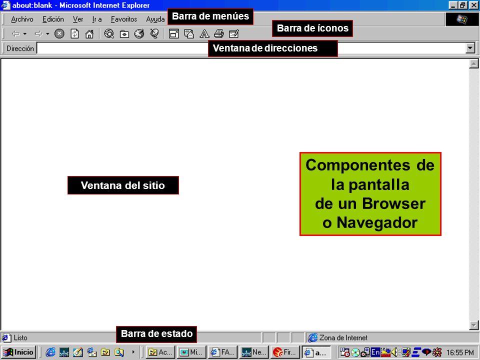 de un Browser o Navegador