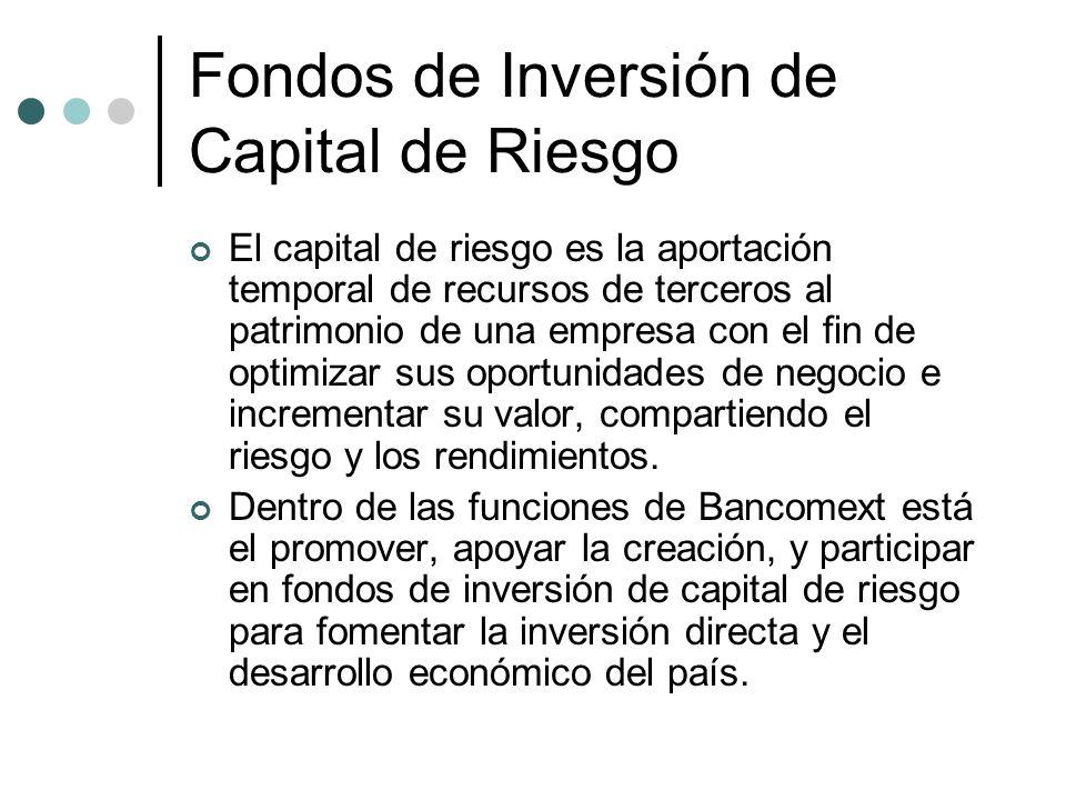 Fondos de Inversión de Capital de Riesgo