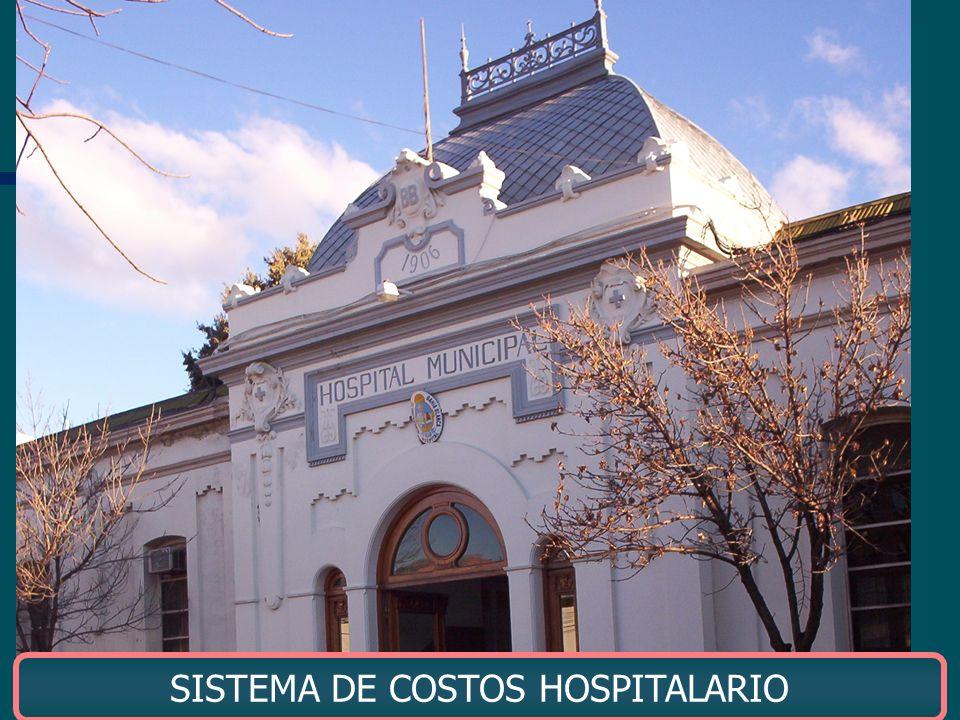 SISTEMA DE COSTOS HOSPITALARIO