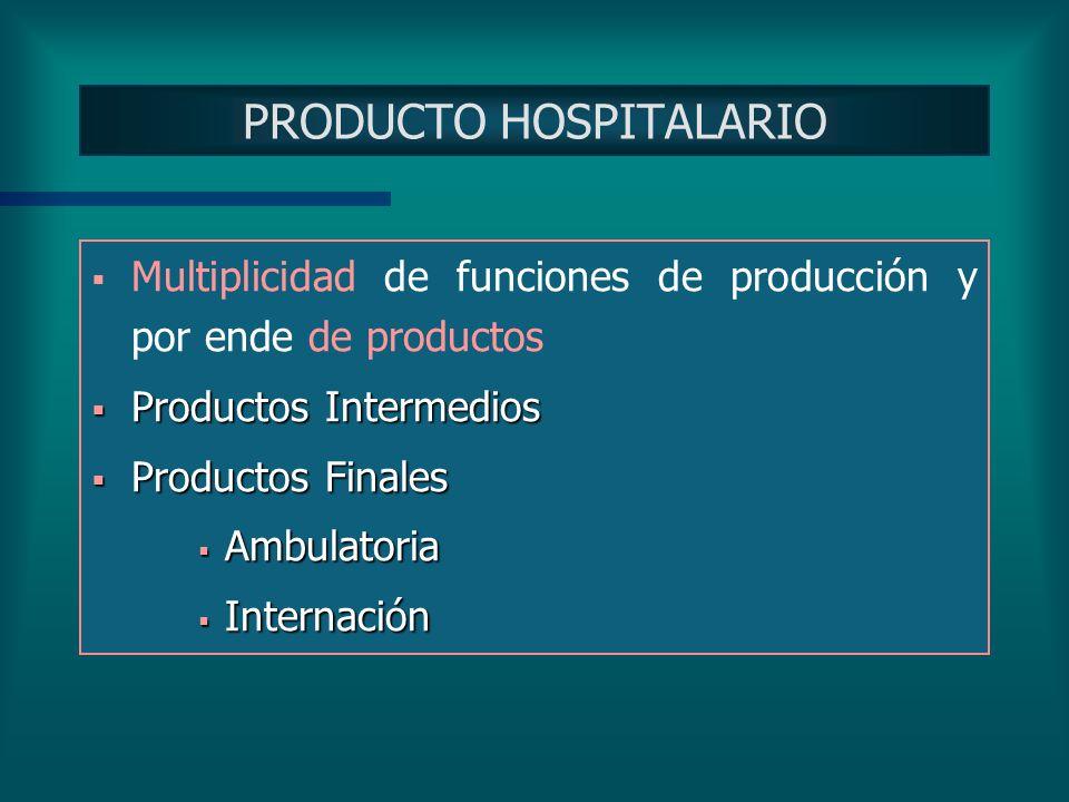 PRODUCTO HOSPITALARIO