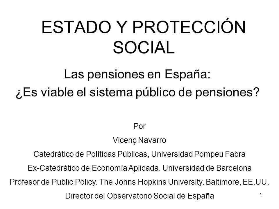 ESTADO Y PROTECCIÓN SOCIAL