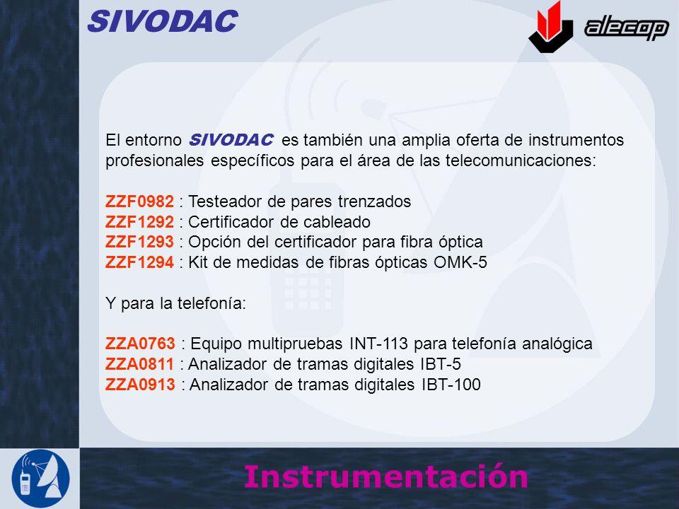 SIVODAC Instrumentación